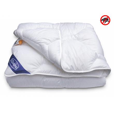 SILVANA Dekbed Nova Zembla anti-allergisch. Een ideaal synthetisch dekbed bij constante slaapkamertemperatuur. Uitvoering: Solo(niet-4-seizoenen). MAAT: 140 X 220 cm.