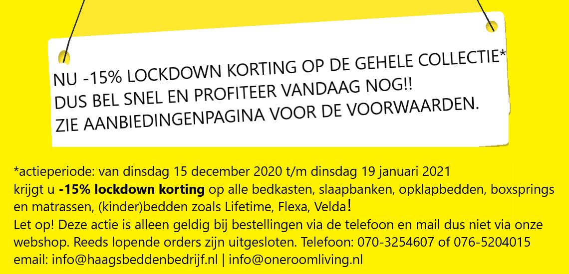 ACTIE LOCKDOWN 2020-2021